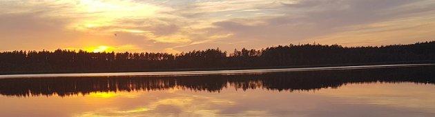 Место для палаток в Zeltini, озеро Patrazs